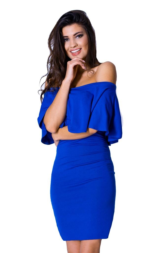 23207ef95ff2 Krasaprozeny.cz - Úžasné dámské šaty - blue - Sukně
