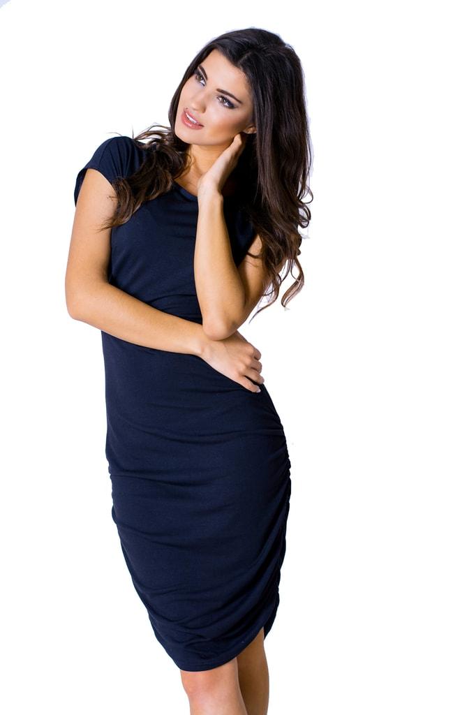 4b534b0e5cb7 Krasaprozeny.cz - Elegantní dámské šaty - black - Sukně
