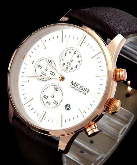 Krasaprozeny.cz - Nový model stylových pánských hodinek MEGIR ... 1f1aec74db