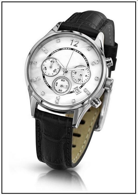 Krasaprozeny.cz - Oslnivé hodinky Geneva Pearl Swarovski stříbrné ... 6c9d846d5f