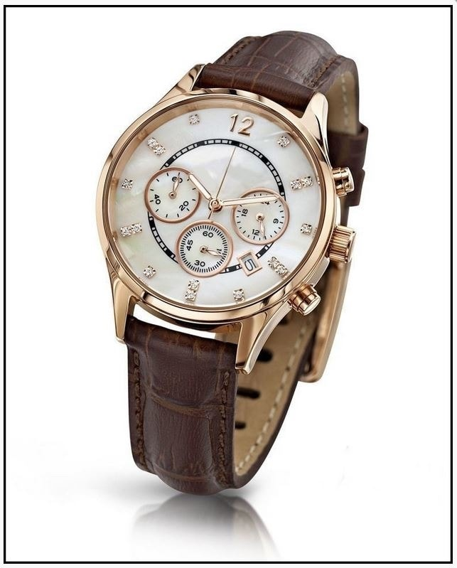 Krasaprozeny.cz - Oslnivé hodinky Geneva Pearl Swarovski zlaté ... 40a803765c9