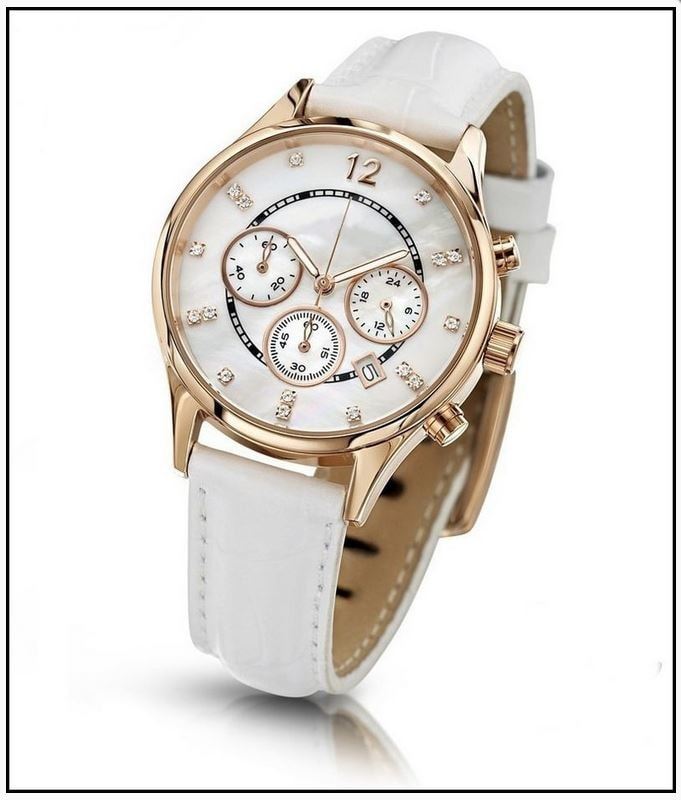 Krasaprozeny.cz - Oslnivé hodinky Geneva Pearl Swarovski zlaté ... 012ab63a79