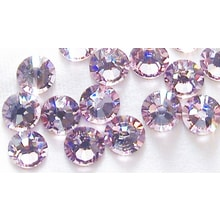 Kamínky na řasy Swarovski elements Light Amethyst - 25, 50ks