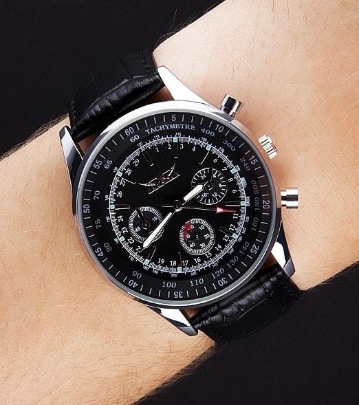Krasaprozeny.cz - Pánské letecké hodinky JARAGAR PILOT - Hodinky ... 0de9d8e0fbf