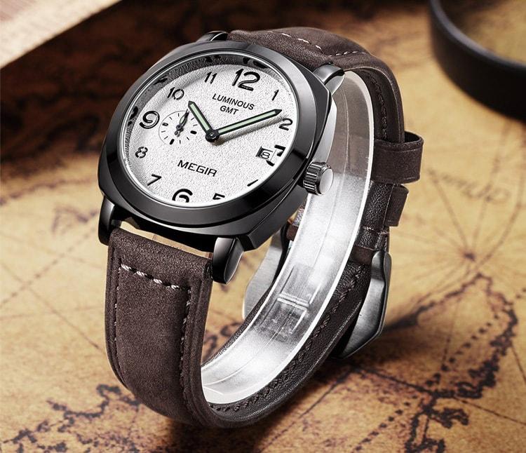 ... Originální pánské hodinky MEGIR - brown. krásné hodinky krásné hodinky    luxusní hodinky 7b40ab5e6b