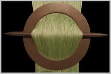 Provázková záclona Exkluzive- světle zelená