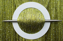 Provázková záclona Luxury - olivová